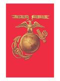 US Marine Corps Logo Prints