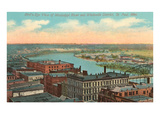 Mississippi River, St. Paul, Minnesota Prints