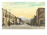 Main Street, Livingston, Montana Prints