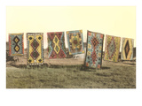 Navajo Blankets on Display Posters