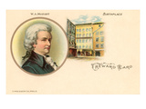 Mozart and Birthplace Posters