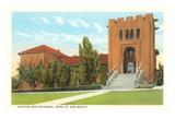 Scottish Rite Building, Santa Fe, New Mexico Print