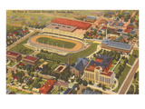 Aerial View of Creighton University, Omaha, Nebraska Poster