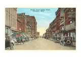 Burdick Street, Kalamazoo, Michigan Print
