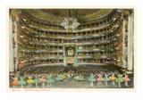 La Scala Opera House, Milan, Italy Print
