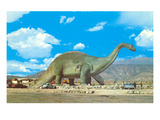 Roadside Brontosaurus Art