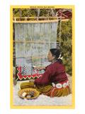 Navajo Rug Weaver Posters