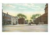 The Square, Portsmouth, New Hampshire Prints