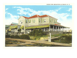 Ocean Inn, Wrightsville Beach, North Carolina Prints