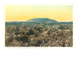 Volcanic Cone and Lava Beds, New Mexico Prints