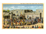 Santa Clara War Dance, New Mexico Prints