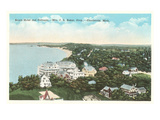 Beach Hotel, Charlevoix, Michigan Prints
