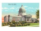 State Capitol, Jefferson City, Missouri Prints