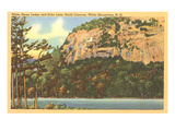 White Horse Ledge, Echo Lake, New Hampshire Prints