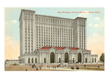 Michigan Central Station, Detroit, Michigan Prints