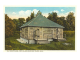 Old Block House, Mackinac Island, Michigan Print