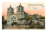 Mission de la Purisima Concepcion, San Antonio, Texas Prints