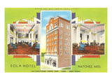 Eola Hotel, Natchez, Mississippi Print