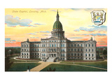 State Capitol, Lansing, Michigan Prints