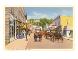 Main Street, Mackinac Island, Michigan Posters