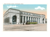 Great Northern Station, Minneapolis, Minnesota Print