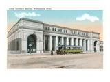 Great Northern Station, Minneapolis, Minnesota Print