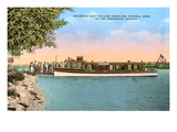Excursion Boat, Lake Vermilion, Virginia, Minnesota Prints