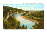 St. Louis River, Fond-du-Lac, Minnesota Prints