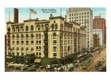 Hotel Cadillac, Detroit, Michigan Posters
