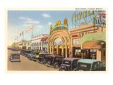Main Street, Tijuana, Mexico Posters