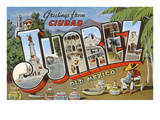 Greetings from Ciudad Juarez, Mexico Posters