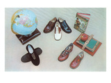 Shoes for Schoolchildren Print