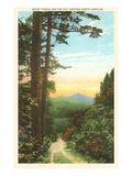 Mt. Pisgah, Western North Carolina Poster