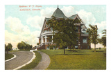 William Jennings Bryan House, Lincoln, Nebraska Prints
