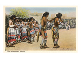 Hopi Snake Dance Print