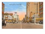 Saginaw Street, Flint, Michigan Poster