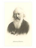 Photograph of Johannes Brahms Affiches