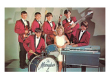 High School Band, Retro Print