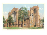 Methodist Church, Detroit, Michigan Posters