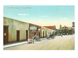 Early Street Scene, Juarez, Mexico Posters