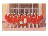 Girls Marching Majorettes Posters