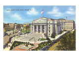 Courthouse, Newark, New Jersey Prints