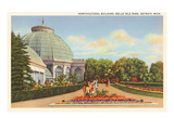 Greenhouse  Belle Isle  Detroit  Michigan