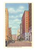 Monroe Avenue, Grand Rapids, Michigan Prints