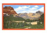 Logan Pass, Glacier National Park, Montana Poster
