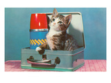 Kitten in a Lunchbox, Retro Posters