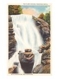 Flume Cascade, White Mountains, New Hampshire Print