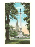 Confederate Monument, Raleigh, North Carolina Posters