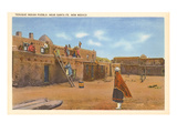 Tesuque Indian Pueblo, Santa Fe, New Mexico Prints
