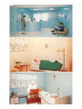 Three Hospital Scenes Prints